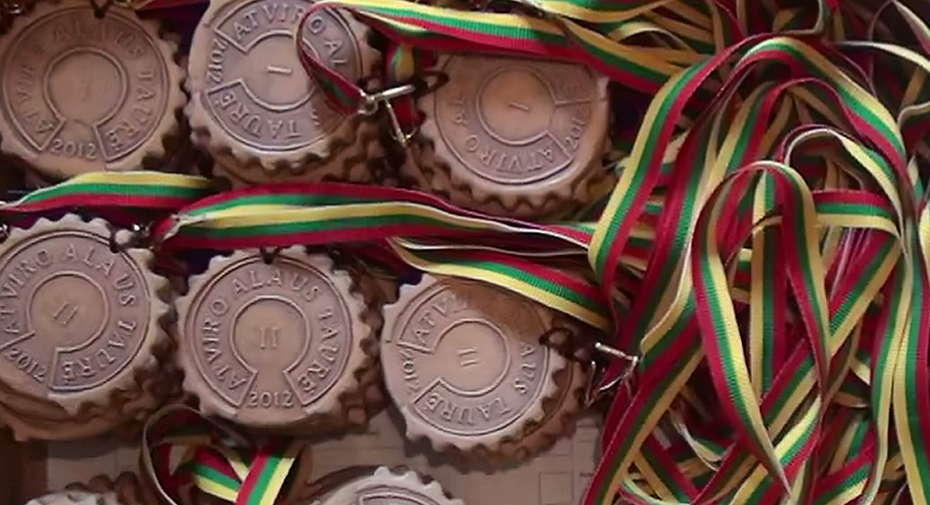 AAT2012 medaliai.
